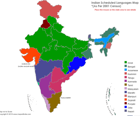 maps-of-india-languages
